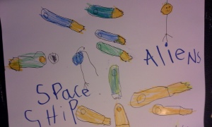 aliens and spaceships